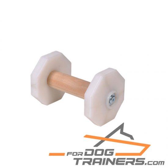 'Fetch Master' Top Grade Dog Dumbbell for Schutzhund Trials 650 g