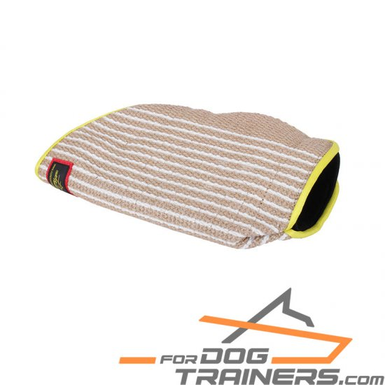 Young&Adult Dog Training Jute Sleeve - 20*11*6 inch (50*28*15 cm)