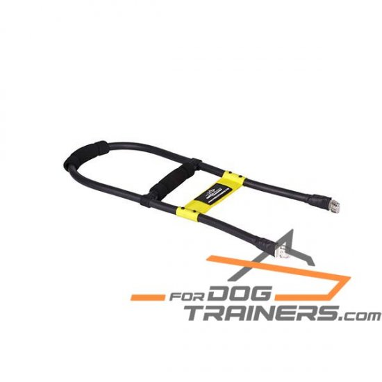 'Easy Dog Control' Hard Removable Handle for Guide Assistance Dog Harness