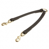 Stitched leather Dog Leash Coupler - Extra Strong