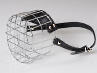 Metal Basket Muzzle for Comfy Dog Walking and Training
