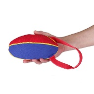 Strong French Linen Dog Tug for Bite Training - Medium - 4 inch*9 inch (11*23 cm)