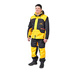 'Aqua, Wind and Mud Shield' Dog Training Suit of Membrane Fabric