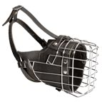 New Fully Padded Wire Cage Working Dog Muzzle for Training