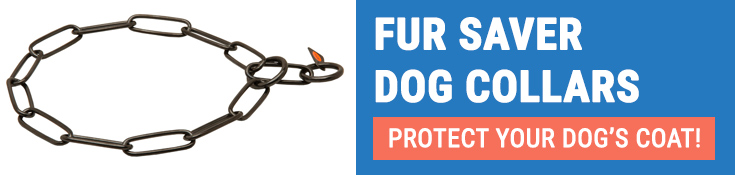 Fur Saver Dog Collars Protect Your Dog's Coat!
