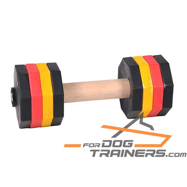Safe for health dog dumbbell