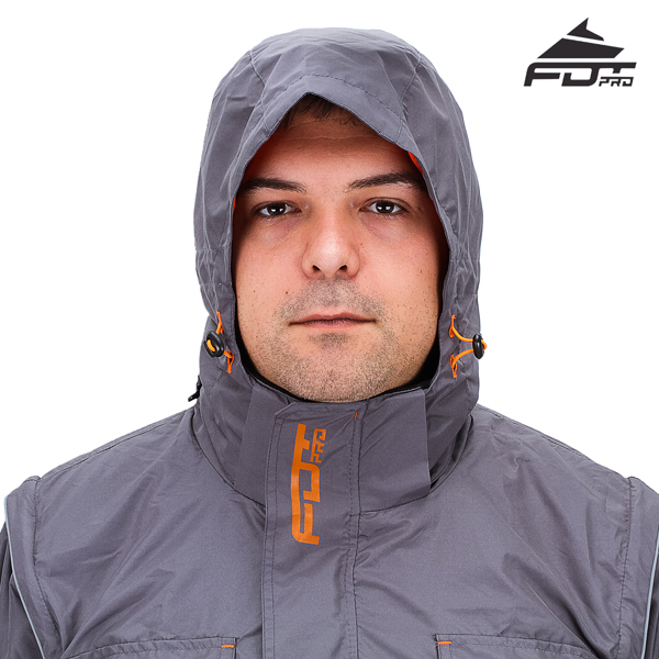 FDT pro jacket with all weather hood