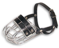 Metal Basket Dog Muzzle Provides Dog with Free Air Flow