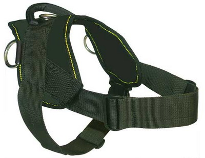 Any Weather Nylon Dog Harness with Handle