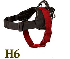 All Weather Nylon Harness - H6 - Sizing Diagram