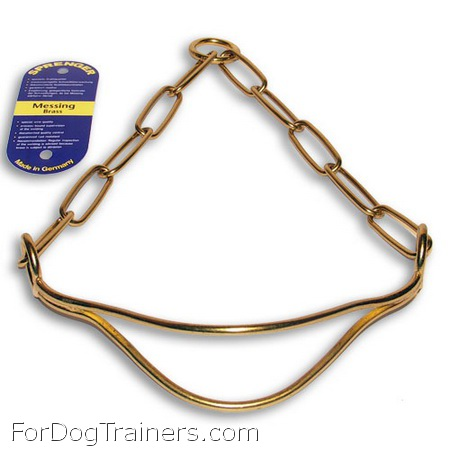 SHOW DOG COLLAR - hs400 ( Made in Germany )