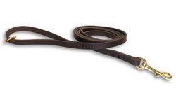 Walking and Tracking Leather Dog Leash of Handcrafted Design