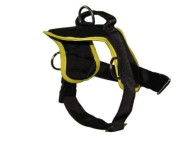 Nylon Dog Control Harness with Handle for Tracking, Pulling and Walking