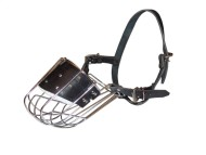 Metal Dog Muzzle for Everyday Walking and Training